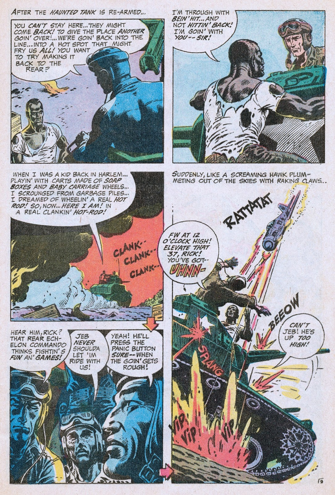 Out of this world social history in comics g i combat 141 let back on the front line the un named african american soldier mans the machine gun in a fierce fight with the nazis and just as victory is achieved publicscrutiny Image collections