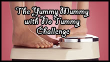 The Yummy Mummy with no Tummy Challenge Logo