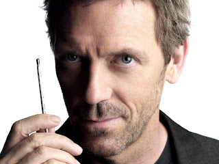 Dr Gregory House. Gosh he's handsome.