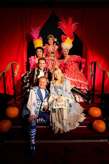 The cast of the Milton Keynes Theatres production of Cinderella