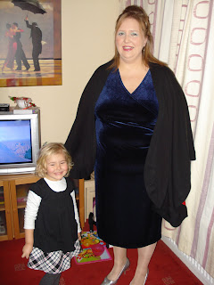 Top Ender and Mummy wearing a dress... not a bloke wearing a dress