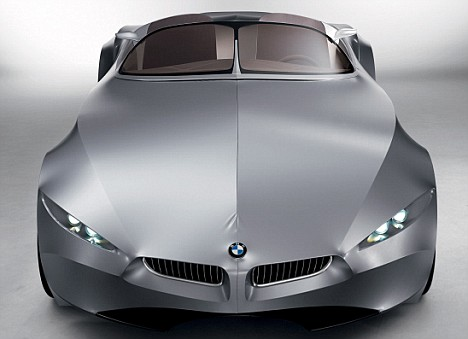 A Car Covered With Cloth Is Something You Would Ociate The Flintstones Not Cutting Edge Of 21st Century Automotive Design But Bmw S Latest