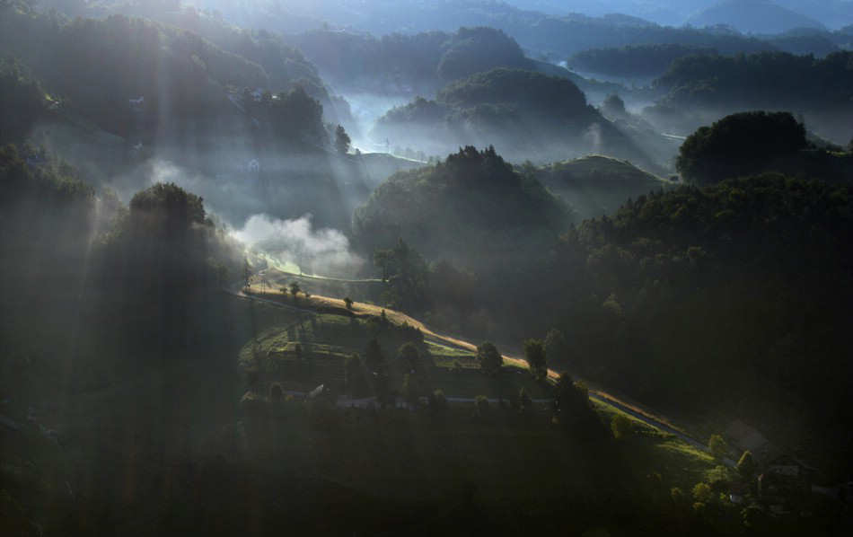 Aerial Landscape Photography by Matjaz Cater