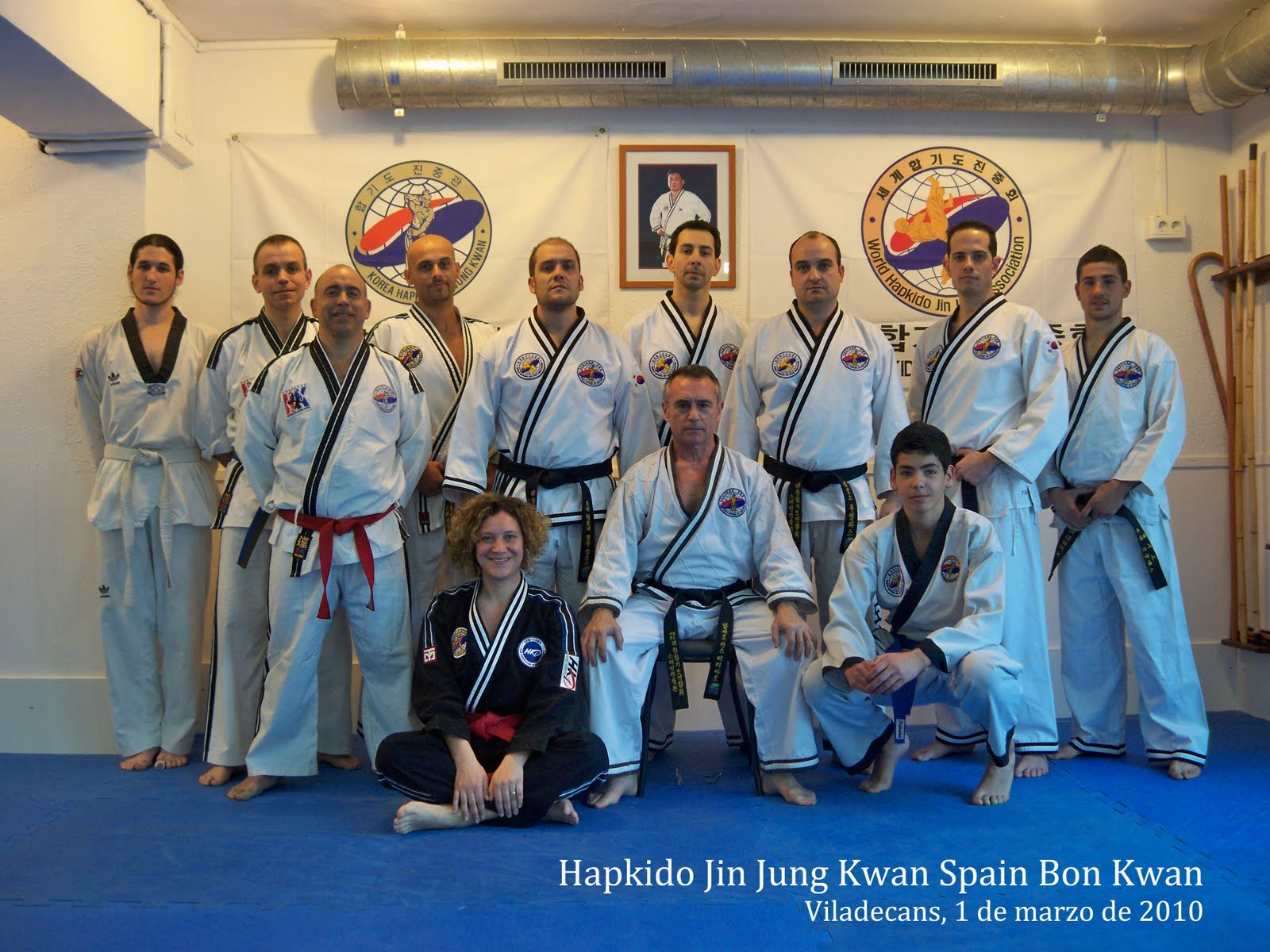 hapkido jin jung kwan barcelona abril 2010. Black Bedroom Furniture Sets. Home Design Ideas