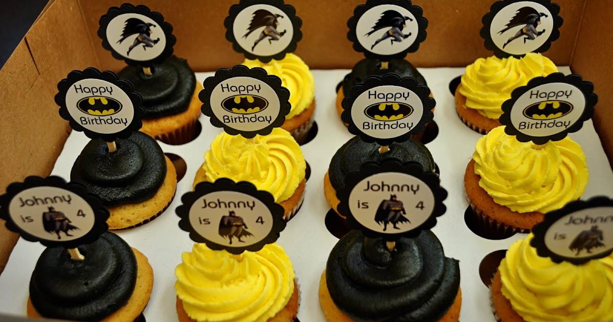 Sweetharts Cupcakes Batman Cupcakes