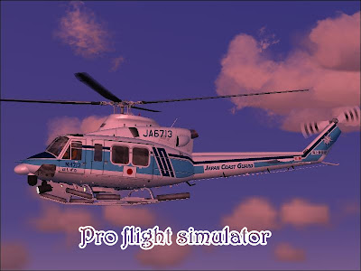 Bell 412 Hovercontrol completo FS2004