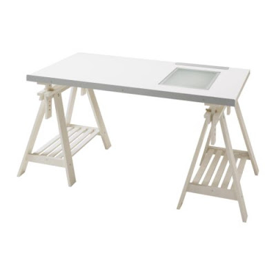 ikea sewing craft table