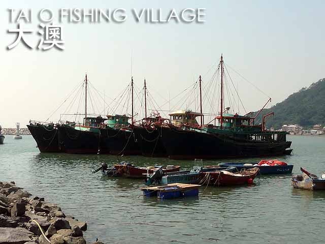 Tai O Fishing Village, Hong Kong