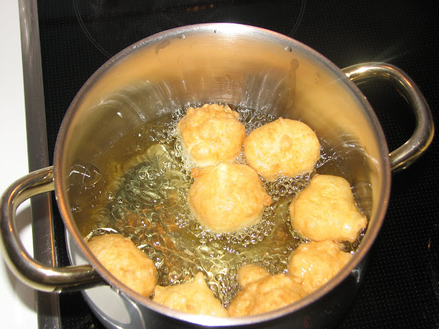 buñuelos sin gluten paso a paso