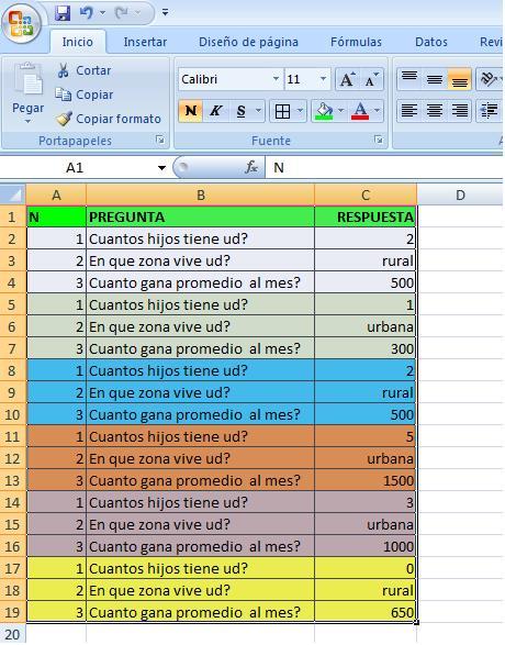 Trucos Fáciles Para Excel Y Otros Programas Crear Tablas