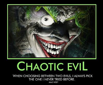 chaotic evil joker
