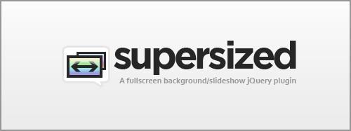 Supersized – Full Screen Slideshow jQuery Plugin