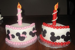 York PA Bakery makes Minnie and Mickey Mouse Birthday Cake for