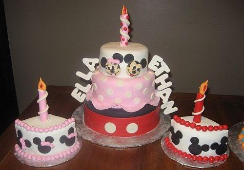 Bear Heart Baking Company Mickey And Minnie Mouse Themed