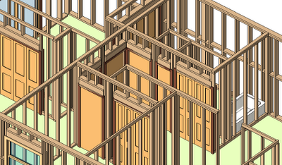REVIT Structure Learning Curve: CADClip Video on Wood Framing Walls