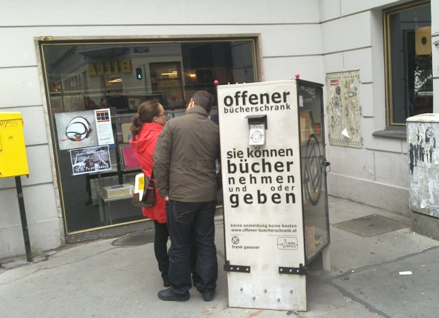Horstblog Offener Bücherschrank Und Bookcrossing