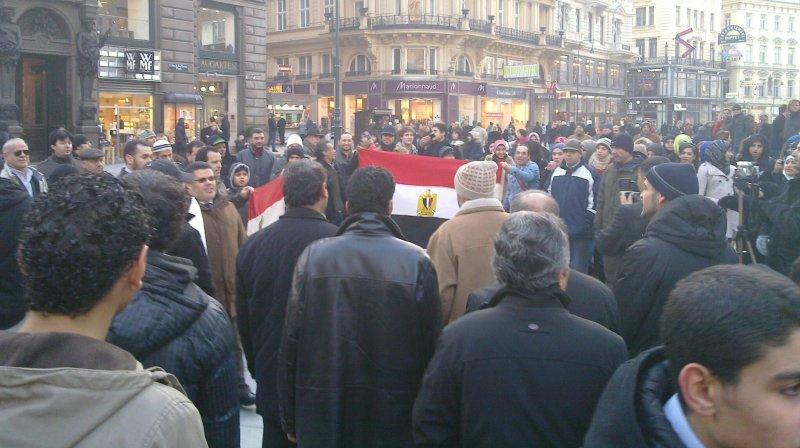 Demo Freitag Wien: Demo Am Wiener Stehpansplatz