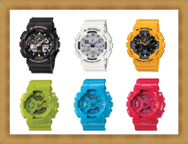 06d5aa69d The Ant Goes Marching On...: G-Shock Big Case Combi Watches