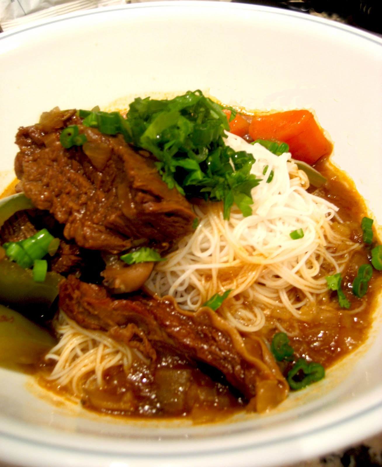 Chinese Cinnamon Beef Noodle Soup