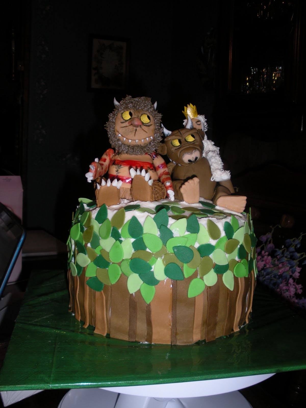 Beachy Cakes Edible Books Where The Wild Things Are