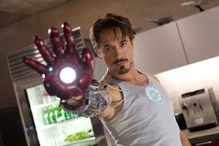 No wonder Iron Man can also be a womanizer: he is handsome, isn't he? ;-p