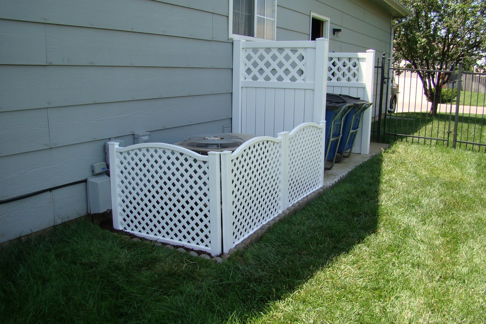 Images Of Fence Around Air Conditioning Unit