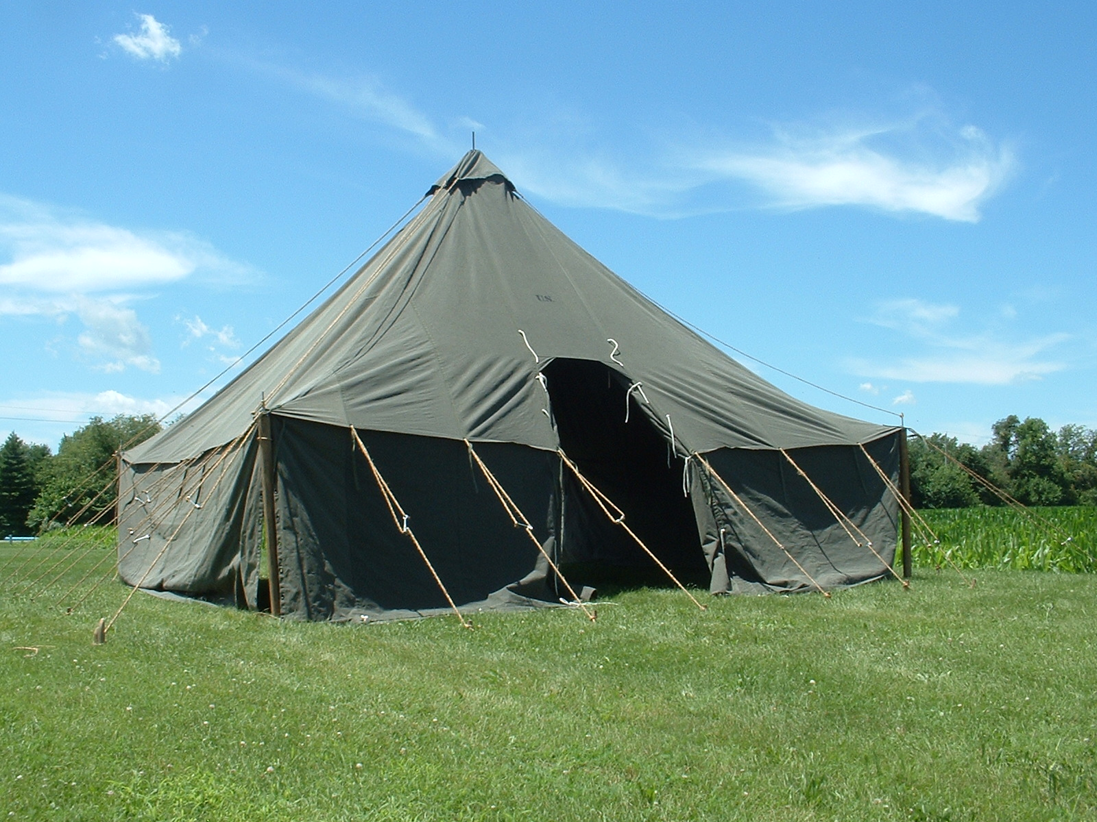 Armbruster Manufacturing Co  | 1934 Pyramidal Tent from Armbruster