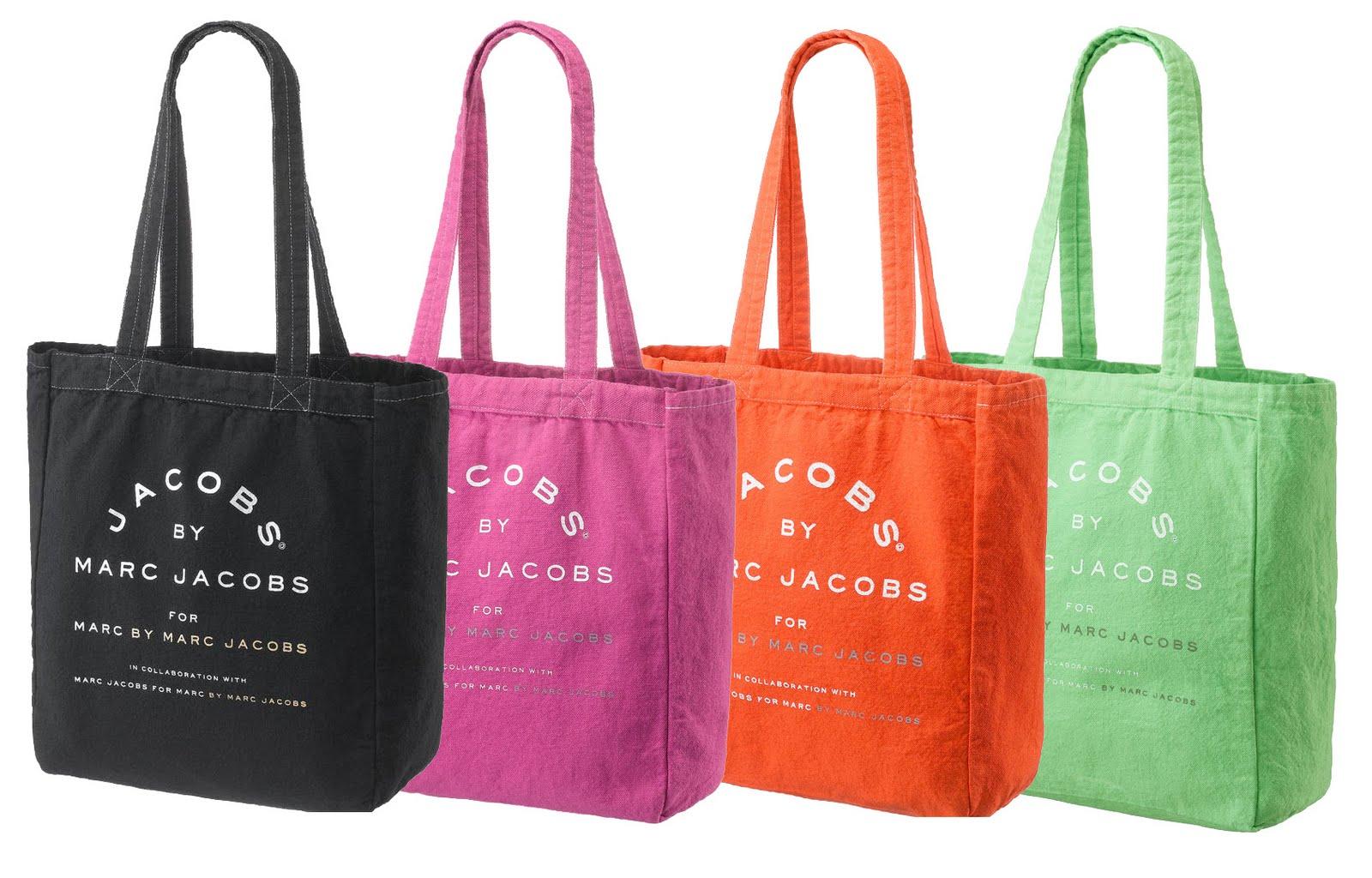 Cashmere Pink Scarf Marc Jacobs Canvas Cotton Tote Bag 6276