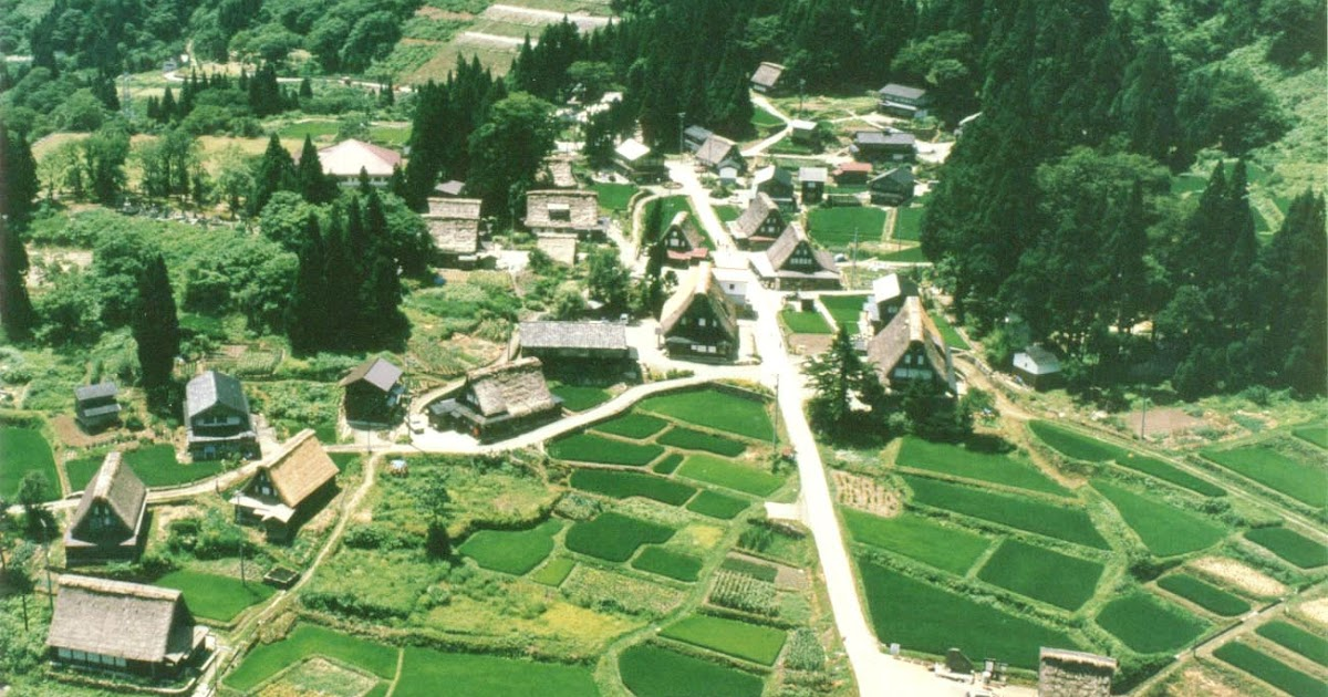 La casa giapponese antica shirakawago for La casa giapponese