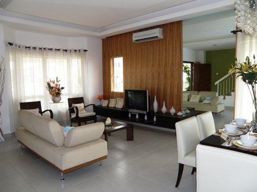 Design Ruang Tamu Tingkat Hiasan Dalaman Rumah Teres 2 Desainrumahid