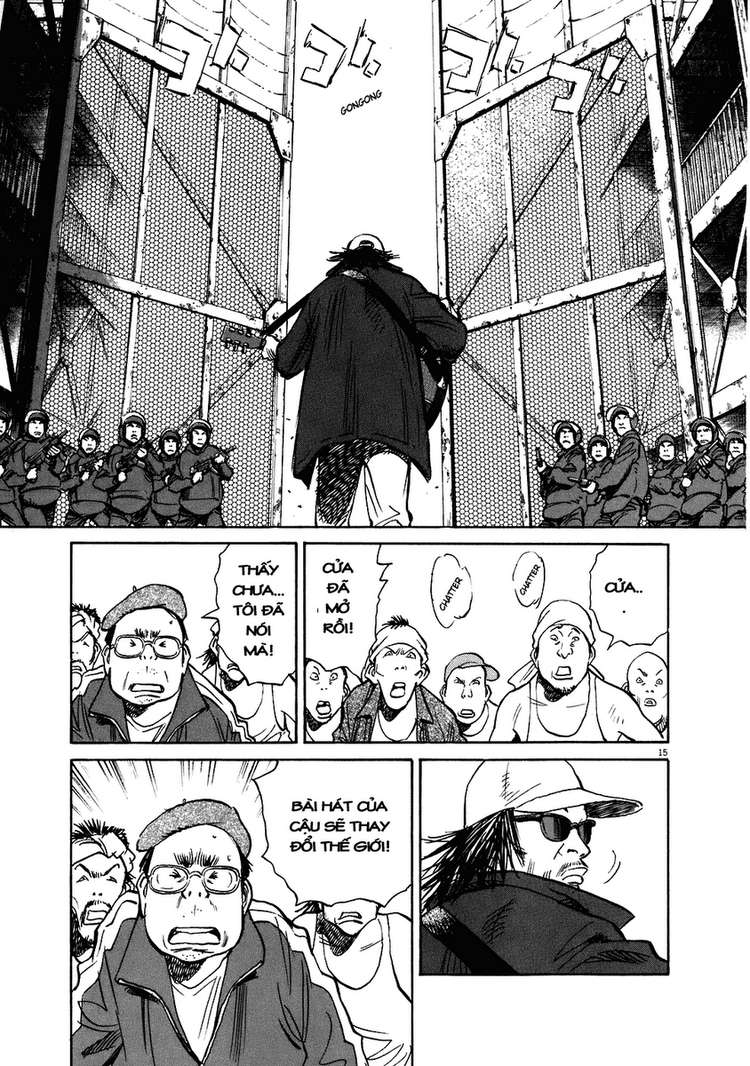 20th Century Boys chapter 209 trang 27