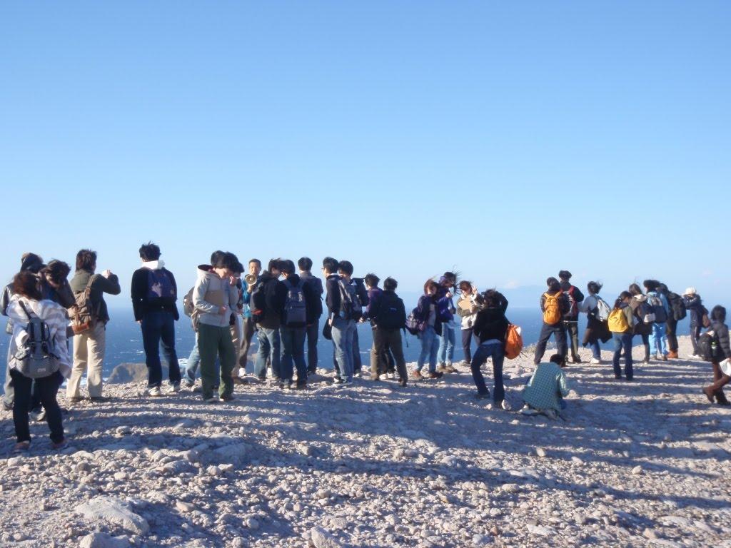 筑波大学地形学分野: 地形学野外実験A 新島巡検 2010