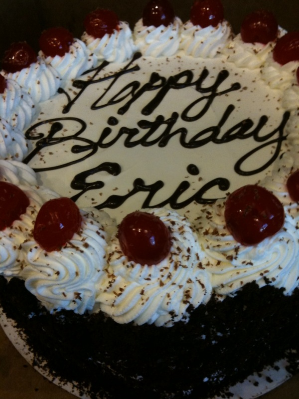 Kristianne Descher Confections Eric S Birthday Cake
