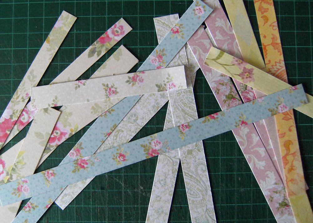 lizzie made  paper flower tutorial part 2