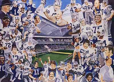 Dallas Cowboys Fan Club Mexico El Adios Al Texas Stadium