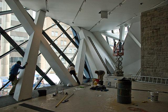 construere somnus rom royal ontario museum daniel libeskind. Black Bedroom Furniture Sets. Home Design Ideas