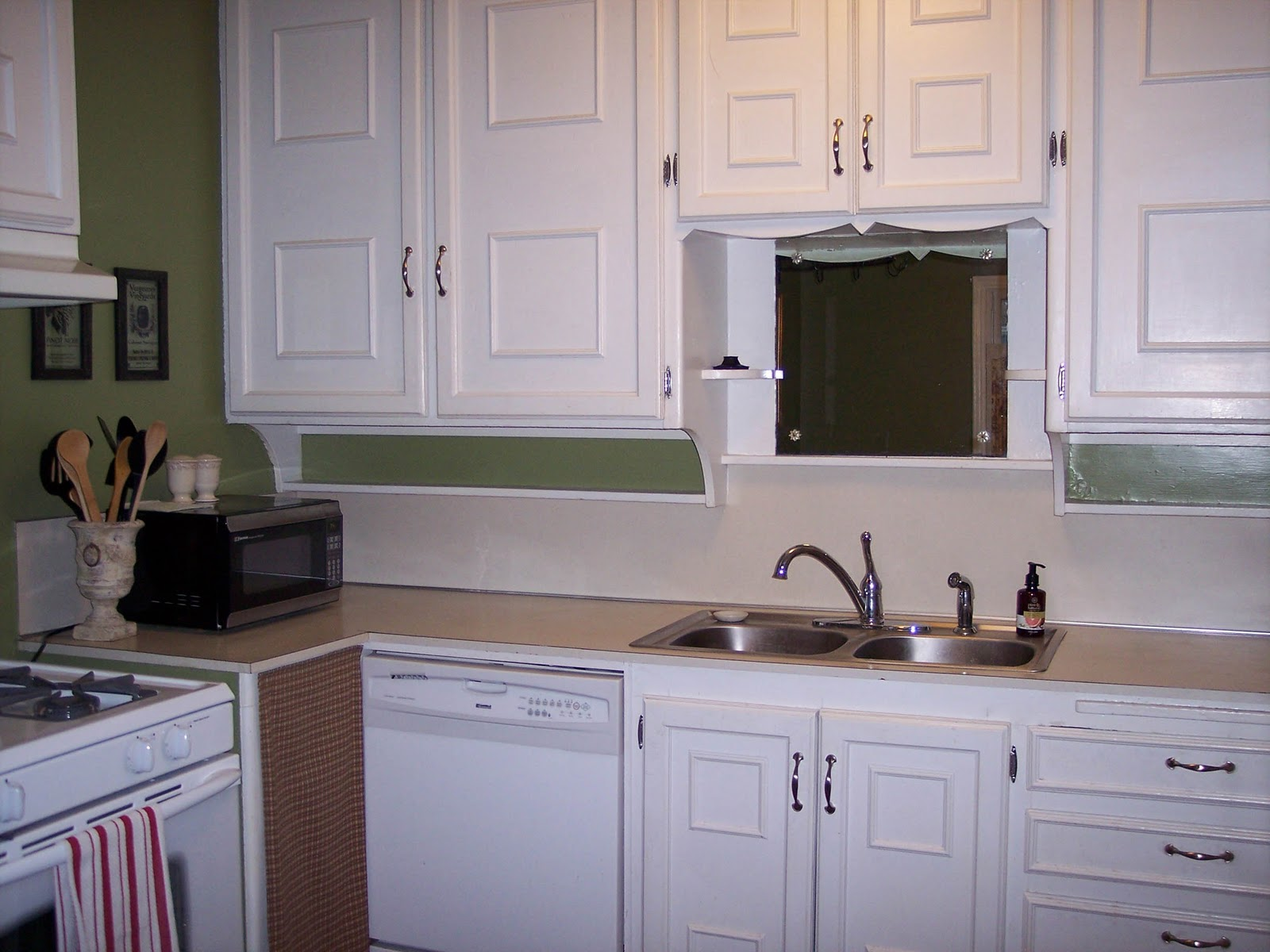 Adding Moulding To Flat Kitchen Cabinets