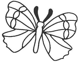 Dibujo De Mariposas Para Imprimir Y Colorear Dibujo De Mariposas