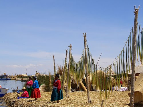The Floating Islands of Lake Titicaca 12