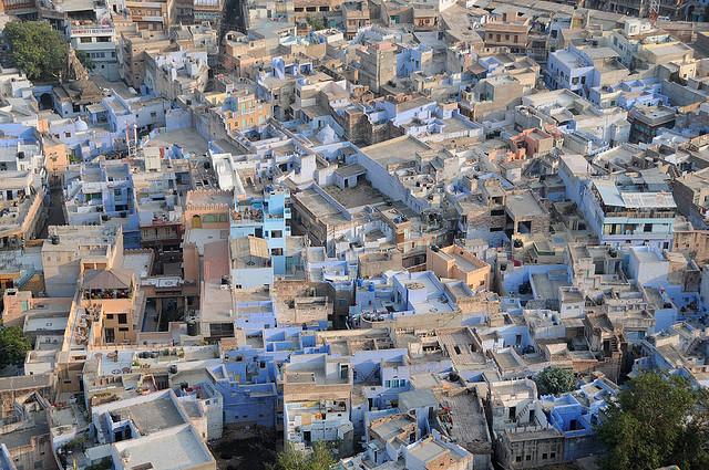 Die blaue Stadt Jodhpur