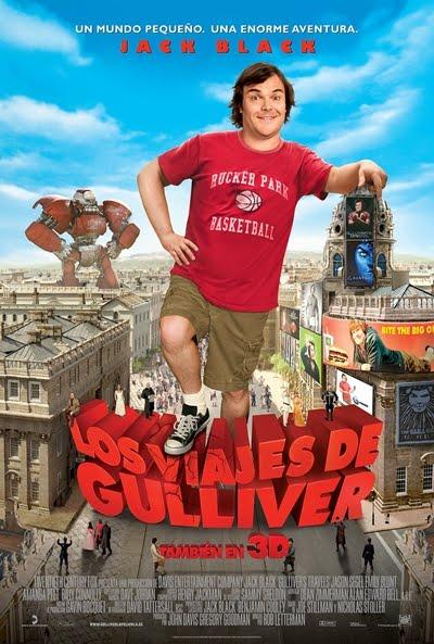 'Los viajes de Gulliver' (Sinopsis, poster y tráiler)
