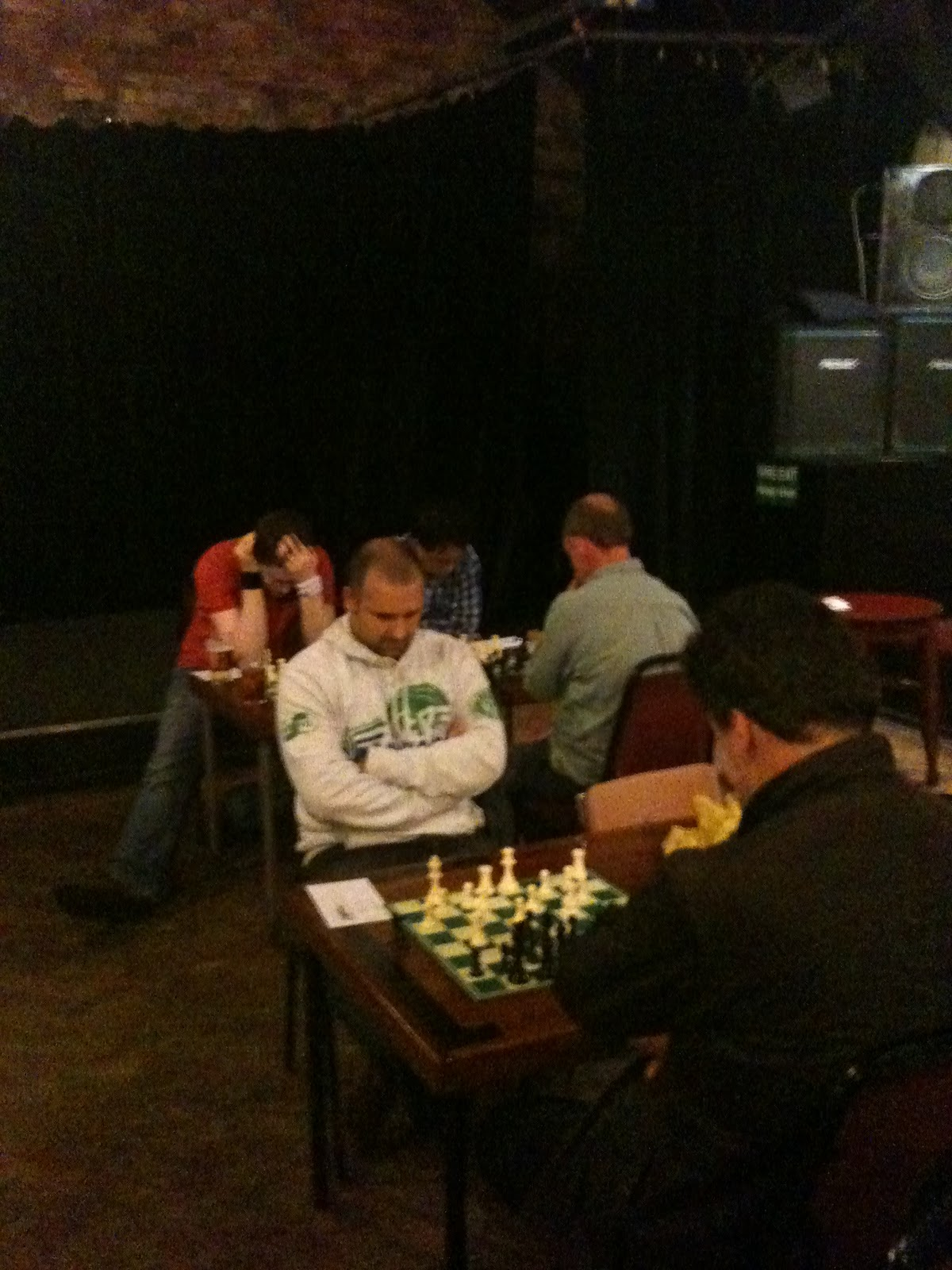 2010 October Hebden Bridge Chess Club Move Checkmate Diagram Furthermore Moves In Addition The Event Matthew Parsons Rear And Nick Sykes Front Were Given Plenty To Think About Their Games Which Both Ended Draws
