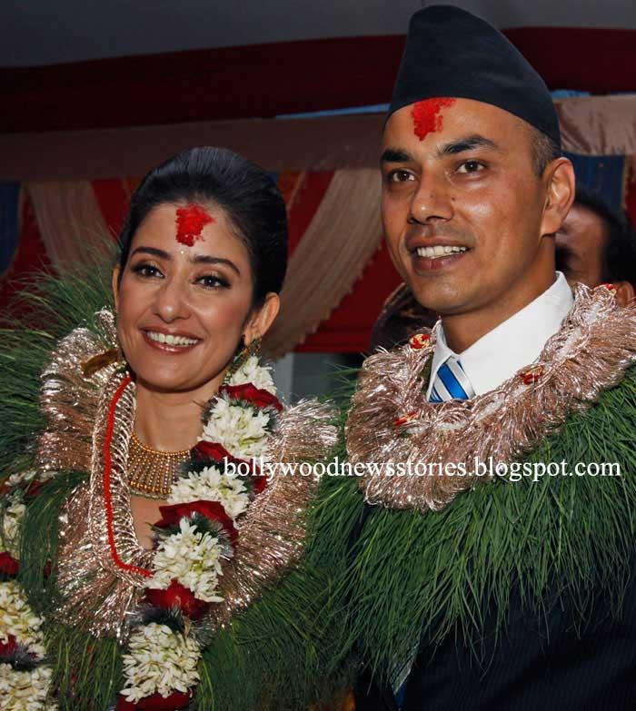 Manisha Koirala Wedding Marriage With Samrat Dahal Pictures