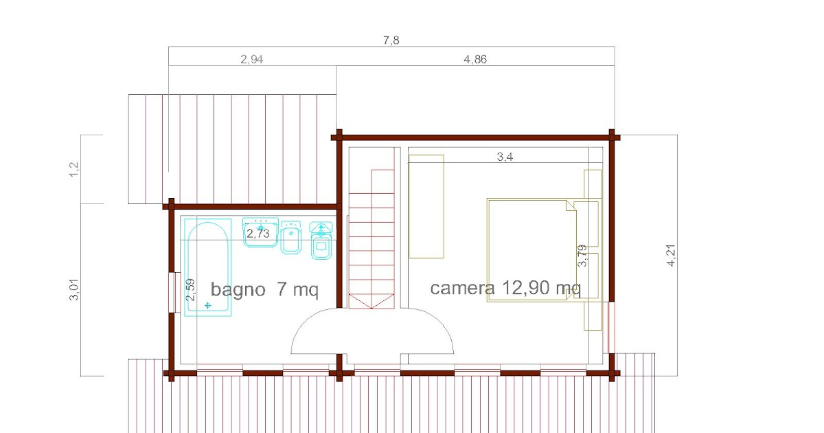 Progetto Casa 90 Mq Perfect Casa Mq Porticati Mq Carport With