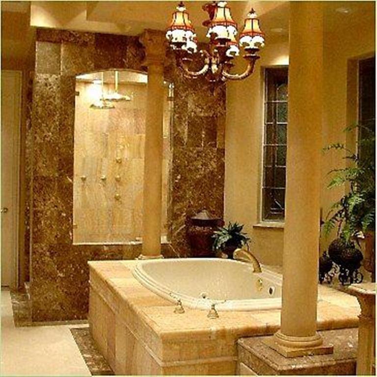 Bathroom Design: Oldies Ornamental Elements Bathroom Design