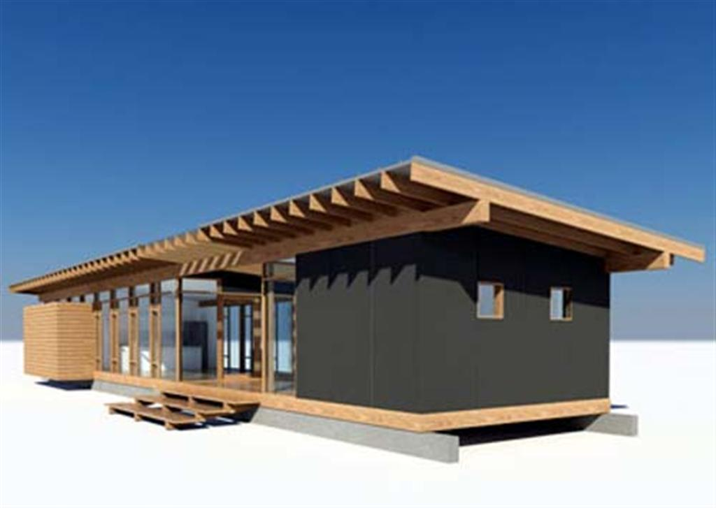 Glass+and+Wood+House+Design+3 - 18+ Design Of Small Wooden House  PNG