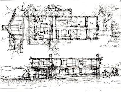 designcultivation: Single Family Home Design Sketch