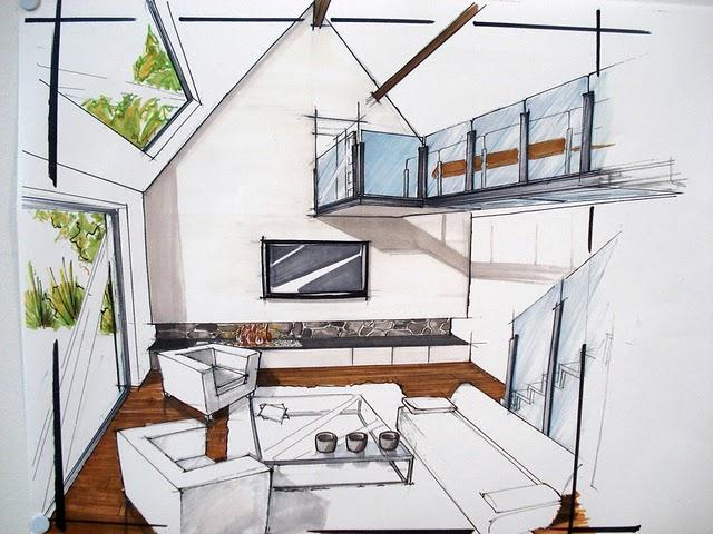 Design et architecture interieure perspectives int rieures - Cuisine architecte d interieur ...