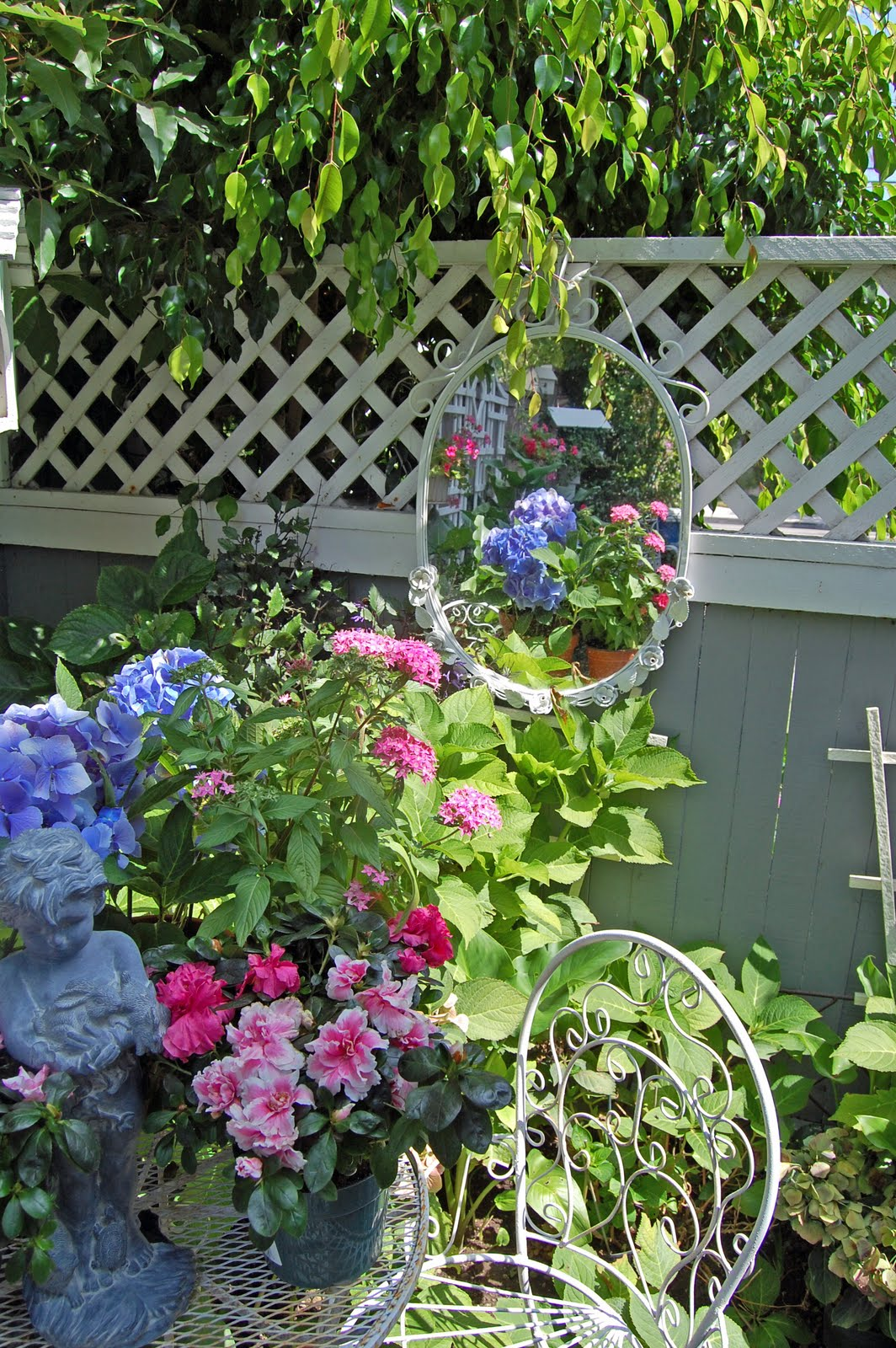 My Painted Garden Container Gardens