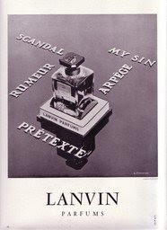 Perfume Shrine A Smooth Leather For The Tough 1930s Lanvin Scandal